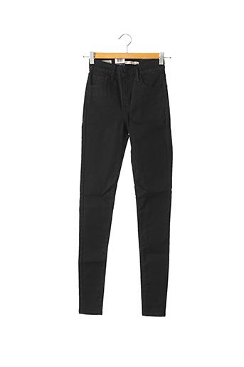 Jeans skinny noir LEVIS pour femme