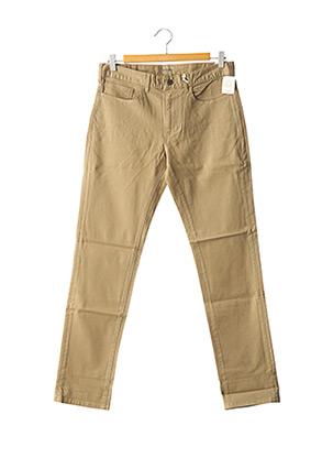 Jeans coupe slim marron DOCKERS pour homme