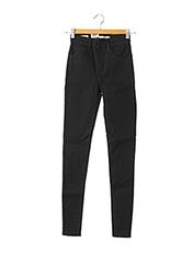 Jeans skinny noir LEVIS pour femme seconde vue