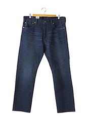 Jeans coupe droite bleu LEVIS pour homme seconde vue