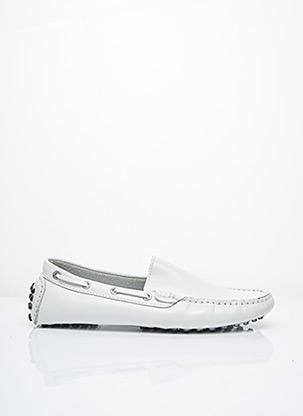 Chaussures bâteau blanc SUPERGA pour homme