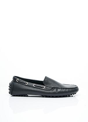 Chaussures bâteau noir SUPERGA pour homme