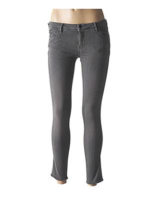 Jeans skinny gris REIKO pour femme