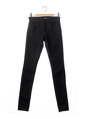 Jeans coupe slim noir ONLY pour femme