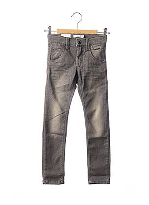 Jeans coupe slim gris NAME IT pour garçon