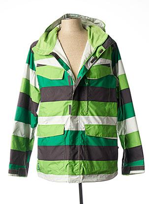 Manteau court vert SPECIAL BLEND pour homme