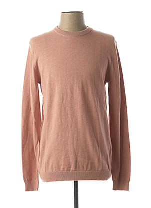 Pull col rond rose ONLY&SONS pour homme