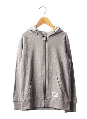Veste casual gris NAME IT pour garçon