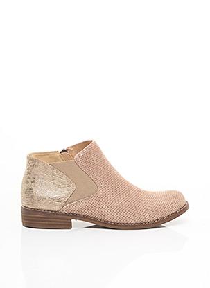 Bottines/Boots rose MADISON pour femme