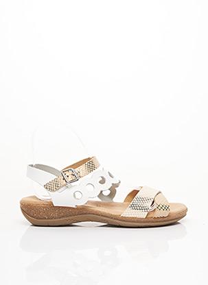 Sandales/Nu pieds beige GEO-REINO pour femme