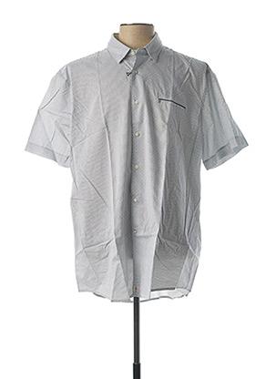 Chemise manches courtes blanc PIERRE CARDIN pour homme