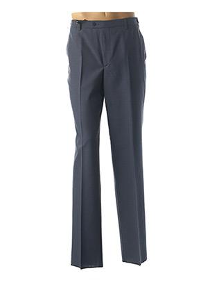 Pantalon chic bleu PIERRE D'ARLANC pour homme