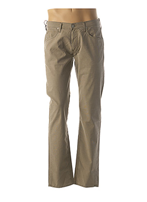 Pantalon casual beige LEE pour homme