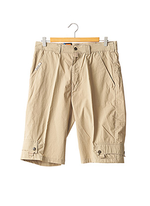 Bermuda beige LUCKY'S 47 BY LUCCHINI pour homme