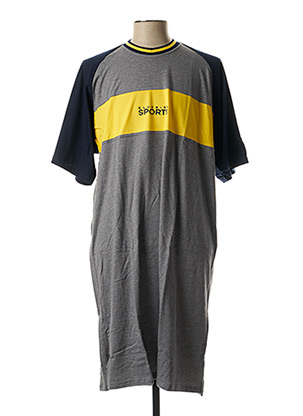Pyjama gris SCHIESSER pour homme