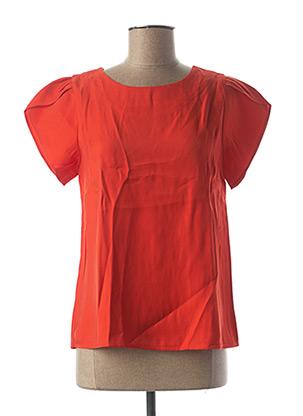 Blouse manches courtes rouge MOLLY BRACKEN pour femme