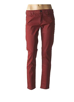 Pantalon 7/8 orange ONE STEP pour femme