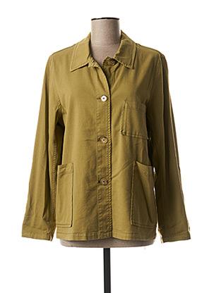 Veste casual vert QUIET pour femme