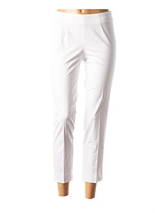 Pantalon 7/8 blanc ROSSO 35 pour femme
