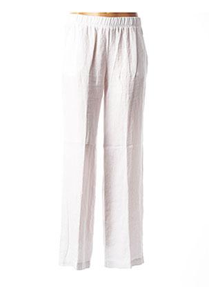 Pantalon casual blanc ROSSO 35 pour femme
