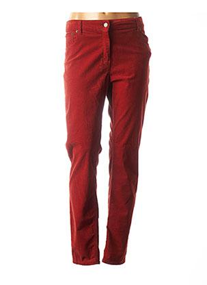 Pantalon casual rouge SCAPA pour femme