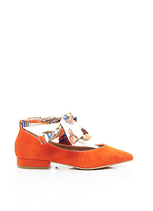 Ballerines orange EMILIE KARSTON pour femme