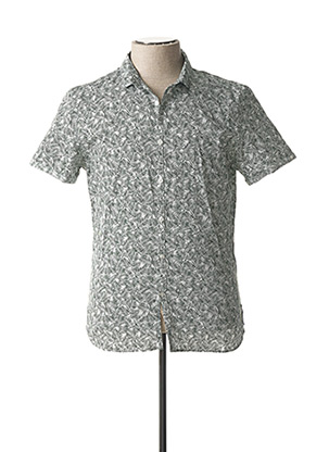 Chemise manches courtes vert TEDDY SMITH pour homme