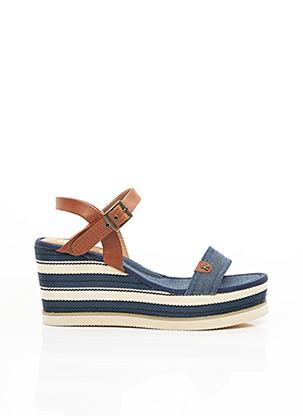 Sandales/Nu pieds bleu REFRESH pour femme