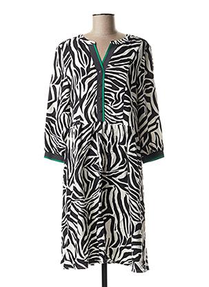 Robe mi-longue noir CECIL pour femme