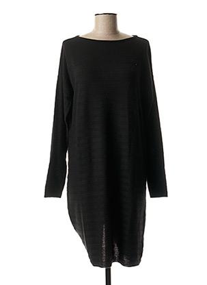 Robe pull noir DENHAM pour femme