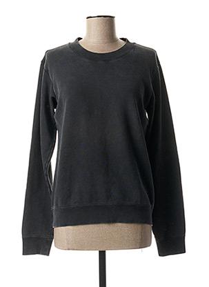 Sweat-shirt noir DENHAM pour femme