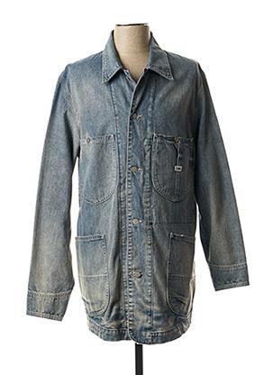 Veste en jean bleu LEE pour homme
