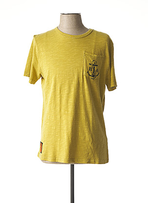 T-shirt manches courtes vert BOMBERS pour homme