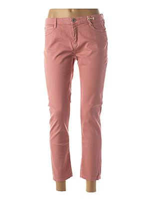 Pantalon 7/8 rose R95TH pour femme