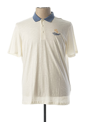 Polo manches courtes beige OXBOW pour homme