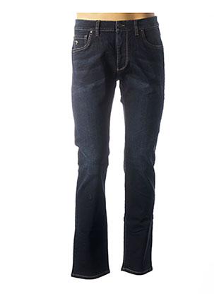 Jeans coupe droite bleu FYNCH-HATTON pour homme