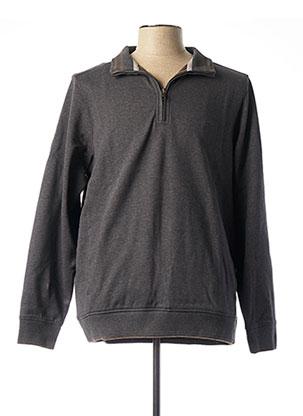 T-shirt manches longues gris FYNCH-HATTON pour homme