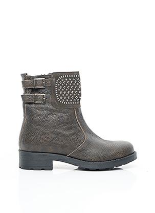 Bottines/Boots vert REQINS pour femme