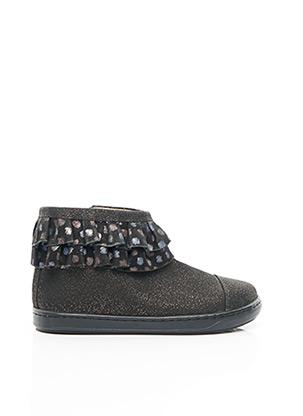 Bottines/Boots noir SHOO POM pour fille