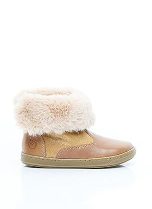 Bottines/Boots marron SHOO POM pour garçon