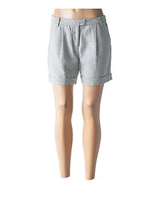 Short gris LOLA ESPELETA pour femme