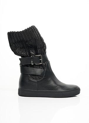 Bottines/Boots noir TWIN-SET SIMONA BARBIERI pour femme