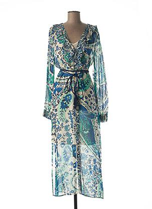 Robe longue bleu TWINSET pour femme