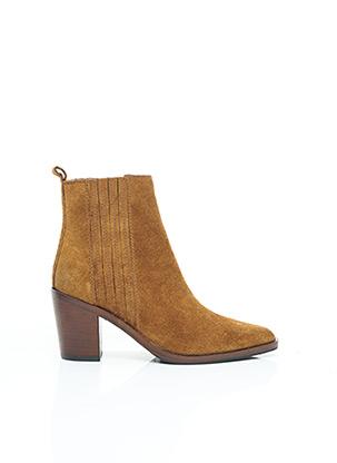 Bottines/Boots marron ADELE DEZOTTI pour femme