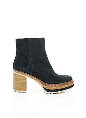 Bottines/Boots noir PONS QUITANA pour femme