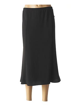 Jupe longue noir GUY DUBOUIS pour femme
