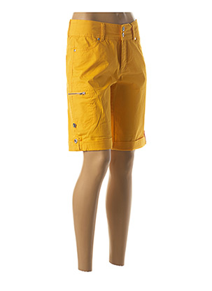 Bermuda jaune JENSEN pour femme