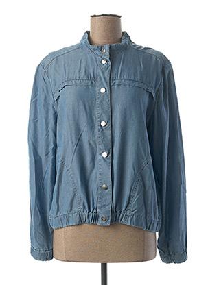 Veste en jean bleu C'EST BEAU LA VIE pour femme
