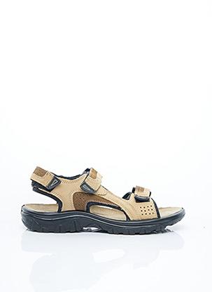 Sandales/Nu pieds beige MARCO TOZZI pour homme