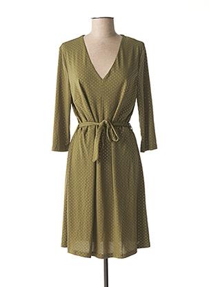 Robe mi-longue vert VERO MODA pour femme